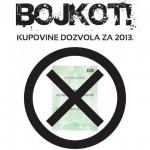 bojkot dozvola