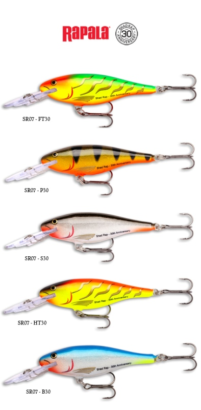 Rapala Shad Rap 30th Anniversary