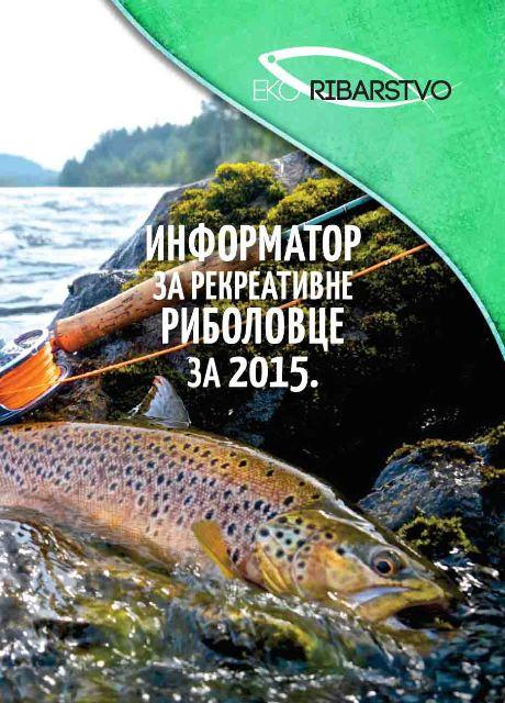 informator za rekreativne ribolovce za 2015